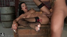 The Hottest Footjob Ever With Shalina Divine