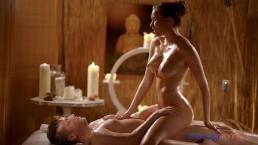 Massage Rooms Brunette Czech Teen Stacy Cruz Rides Oil Soaked Dick