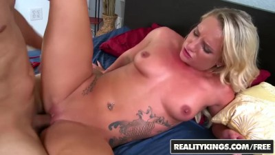 Reality Kings – Inked Teen Cali Carter Rides Cock