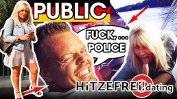 HITZEFREI.dating PUBLIC BOAT FUCK German TATJANA YOUNG Caught By POLICE
