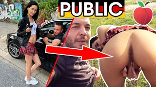 Dates66.com Young Skinny Tourist Gets Dirty Public Fuck