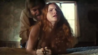 Young Redhead Prostitute Loses Virginity In Western Movie – Please Identify