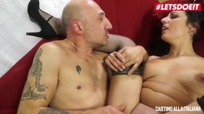 LETSDOEIT – Hot Italian Milf Rides A Big Cock At Casting