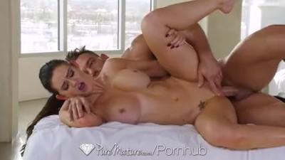 PUREMATURE MILF Kendall Karson Aged Pussy Massaged And Fucked