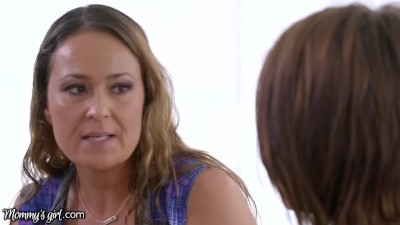 MommysGirl Adriana SOAKED Step-MILF Who Caught Her SQUIRTING