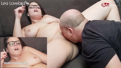 MyDirtyHobby – Hot Curvy Teen Enjoys Her Pussy Licked While Smoking