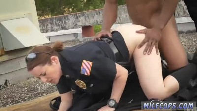 Huge Tits Milf Dp Break-In Attempt Suspect Has To Poke His Way Out Of