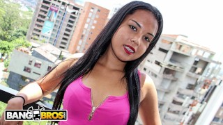 BANGBROS – Young Colombian Babe With Braces, Karla Swety, Fucked By Max