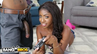 BANGBROS – Anne Amari Goes From Video Game Controller To A Real Joystick!