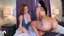 Mom & Step Sister's Big Juicy Asses! Mandy Muse & Lady Fyre PAWG Taboo POV