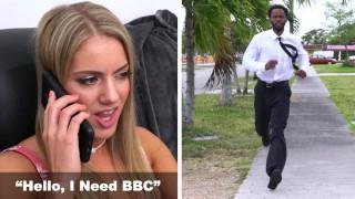 BANGBROS – Candice Dare Kicks Boyfriend Out, Orders Up Some BBC