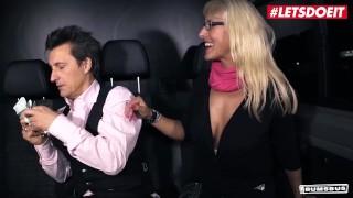 BumsBus   Lana Vegas Mature German Blonde Spreads Her Legs For Stranger's Big Cock   LETSDOEIT