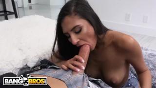 BANGBROS   Teen Gianna Dior Rides Tyler Steel's Big Cock
