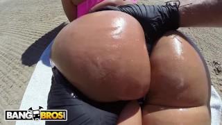 BANGBROS   Big Booty Babe Blondie Fesser Takes Public Pounding From Alberto