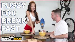BANGBROS   Tony Rubino Eats Cameron Canela's Delicious Pussy For Breakfast