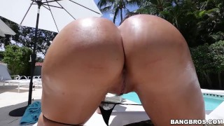 BANGBROS   Bootylicious Brunette Lela Star Taking Dick From Bruno Dickemz On Ass Parade